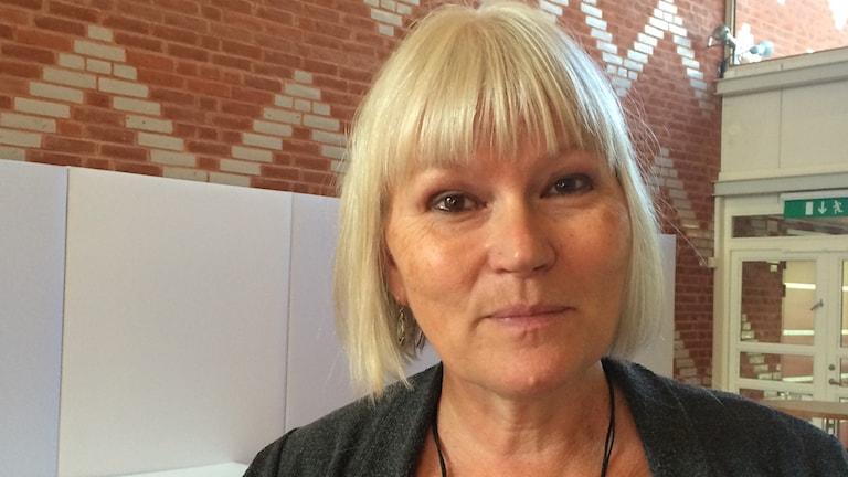 Anna-Lena Lodenius. Foto: Marie Mattsson/Sveriges Radio
