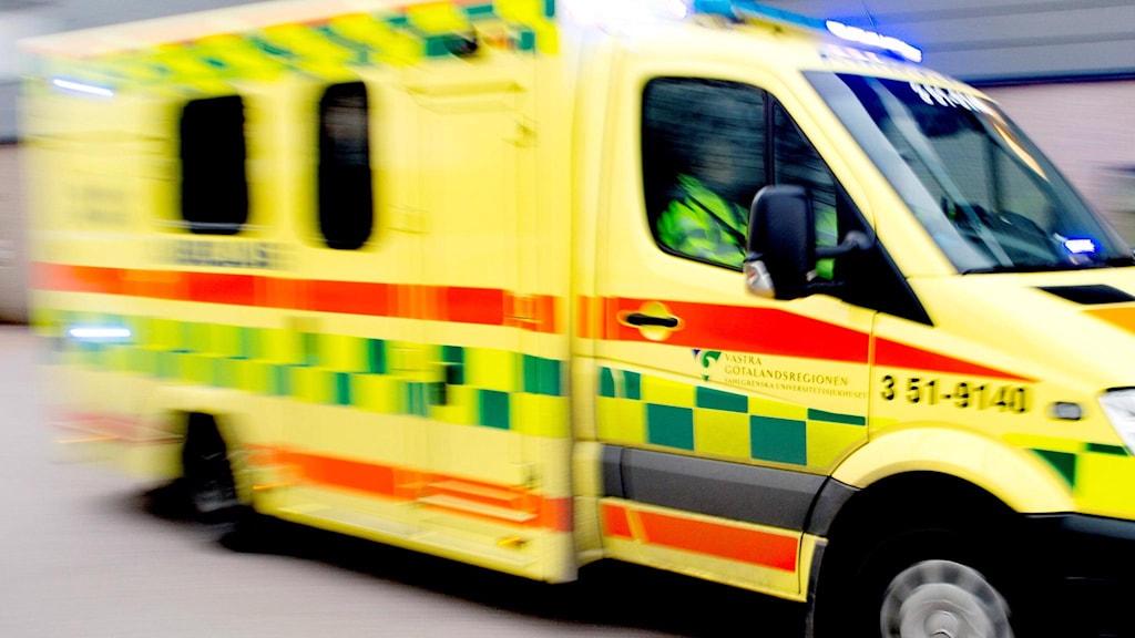 en ambulans.