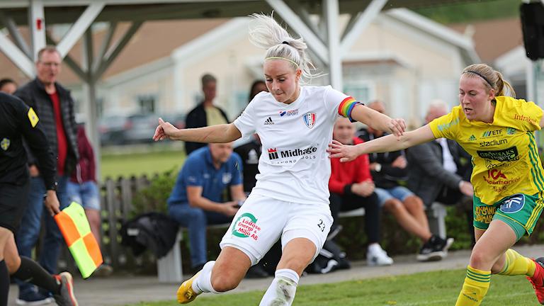 Matchbild från Nygård mellan Lödöse/Nygård och Hertzöga 18 maj 2019.