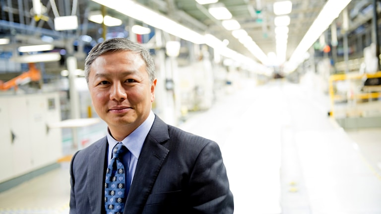 Bild på elbilstillverkaren Nevs huvudägare Kai Johan Jiang.