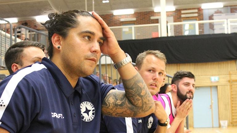 IFK Uddevallas tränare, Angelo Vega.
