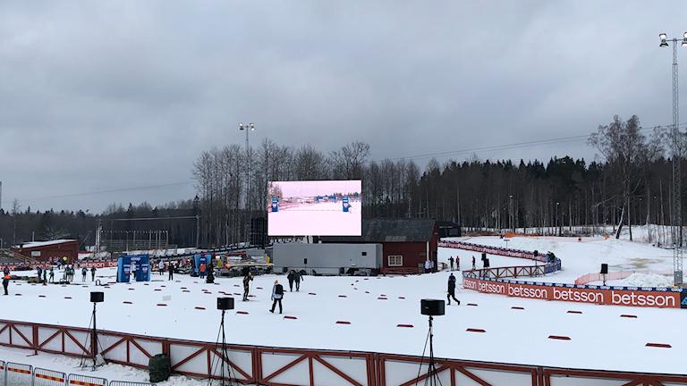 Världscupförberedelser i Ulricehamn