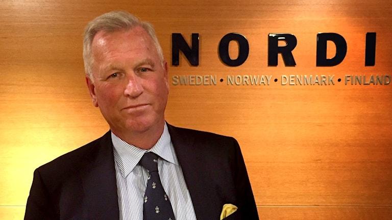 Advokat Hans Strandberg inne på hans kontor i Stockholm