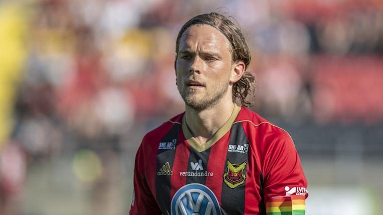 Tom Pettersson från Trollhättan lämnar Östersund.