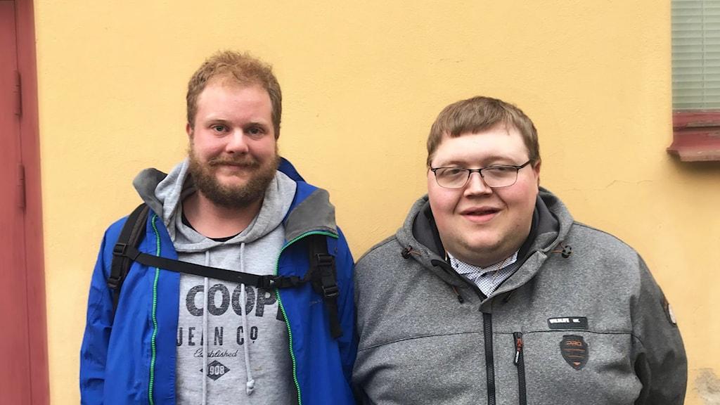 Fredrik Fahlgren och Joel Carlsson