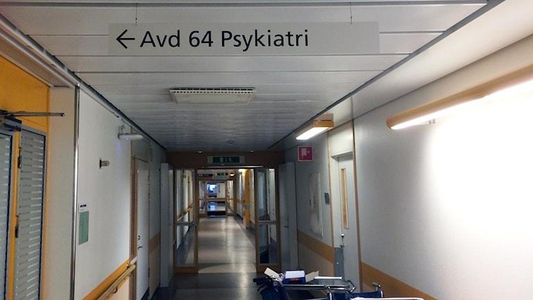 psykiatrikorridor