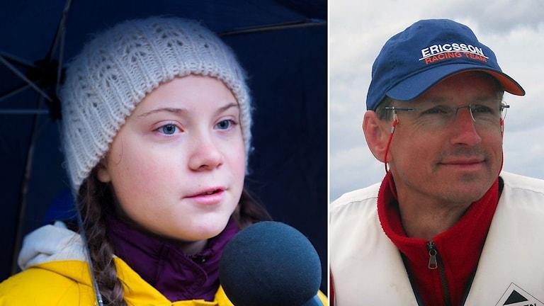 Bo Thorén tycker att Greta Thunberg har en personlighet och kunskap som gör henne väldigt lämpad för att lyfta klimatfrågan.