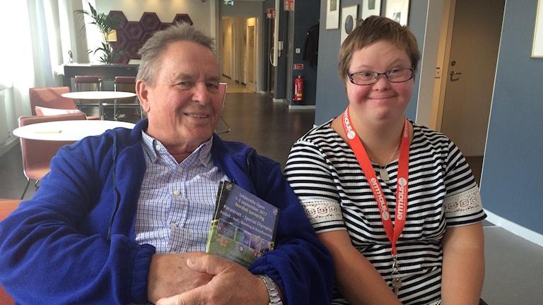 Bo Ahlén och Linda Jakobsson. Foto: Marie Mattsson