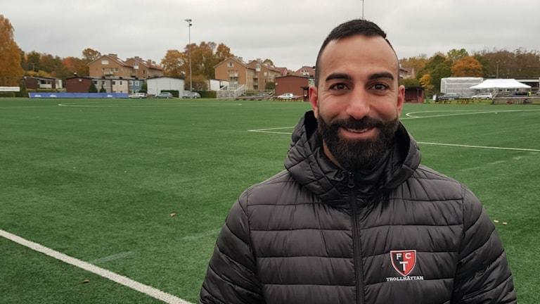 Josef Daoud efter matchen mot Gauthiod.