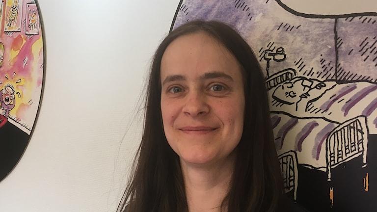 Anna Öhman, undersköterska i Lysekil