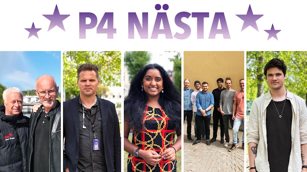 P4 NÄSTA finalisterna