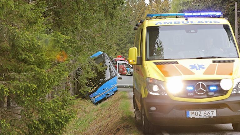 bussolycka Trollhättan