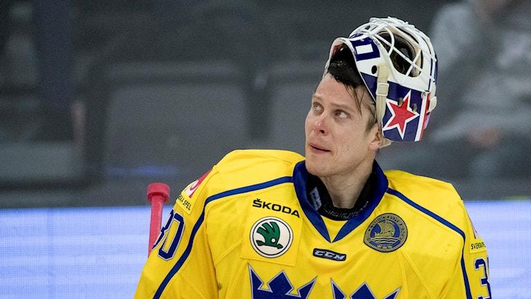 Hockeymålvakten Viktor Fasth kommer att hylla polis och räddningstjänst för deras insats under och efter terrordådet i Stockholm.
