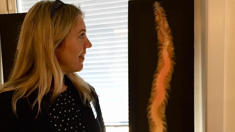 Forskaren Christin Appelqvist tror att havsborstmaskar kan ingå i nya maträtter.