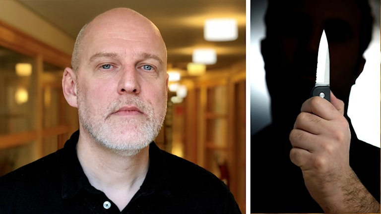 Jan Bäckström och knivrån