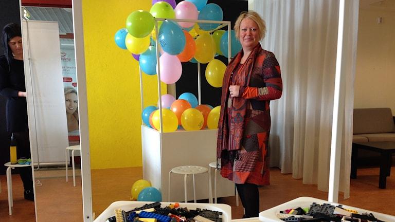Cia Säll på Lysekils Centrum Lab