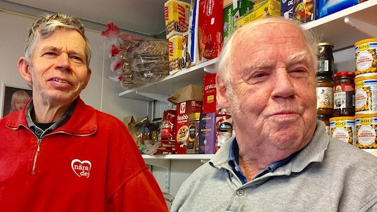 Lars Abrahamsson och Gert Bolin har varit arbetskamrater i 54 år.