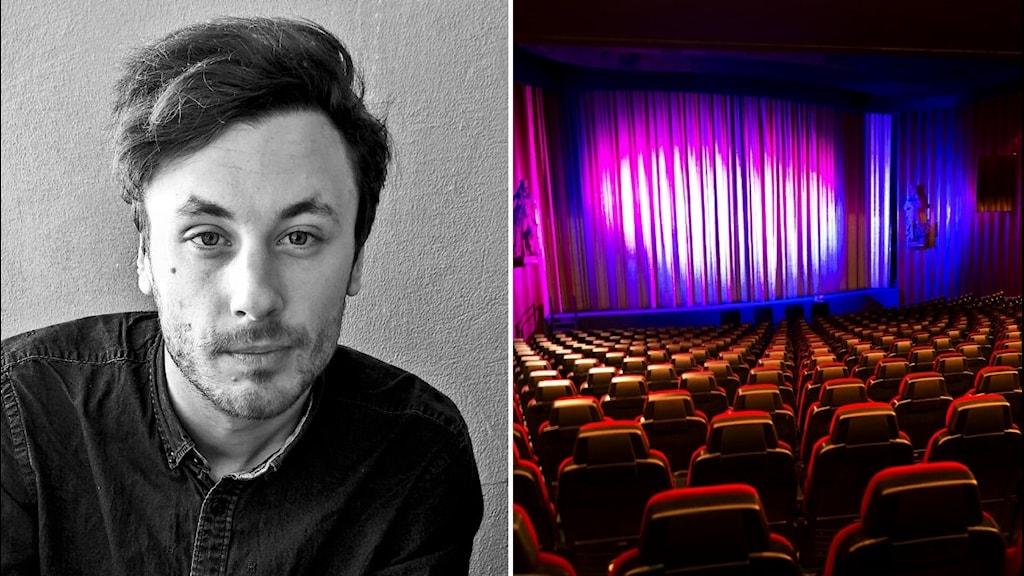 Robert Lindell gör nya vinjetten till SF Bio