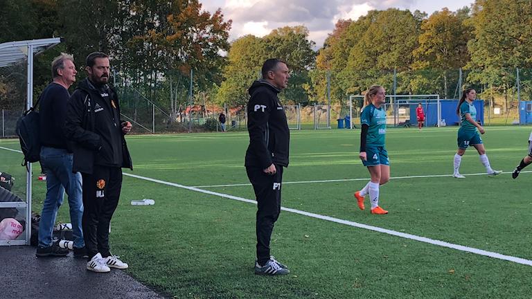 Skoftebyns tränare Patrik Thulin