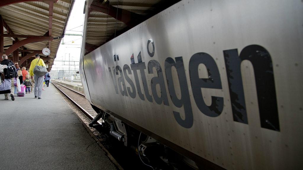 Ett av de nyare tågen. Foto: Adam Ihse/TT