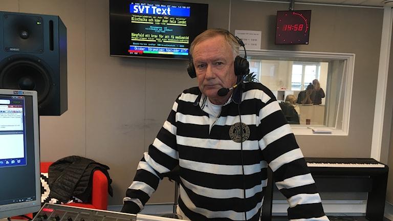 Erland Holmdal, ordförande i Ljungskile SK.