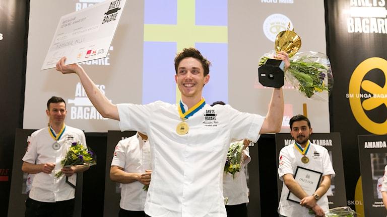 Alexander Pelli från Uddevalla blev Årets bagare 2019.