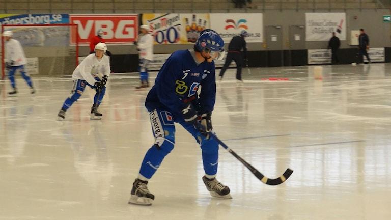 Bandy IFK Vänersborg Sergej Lomanov Jr