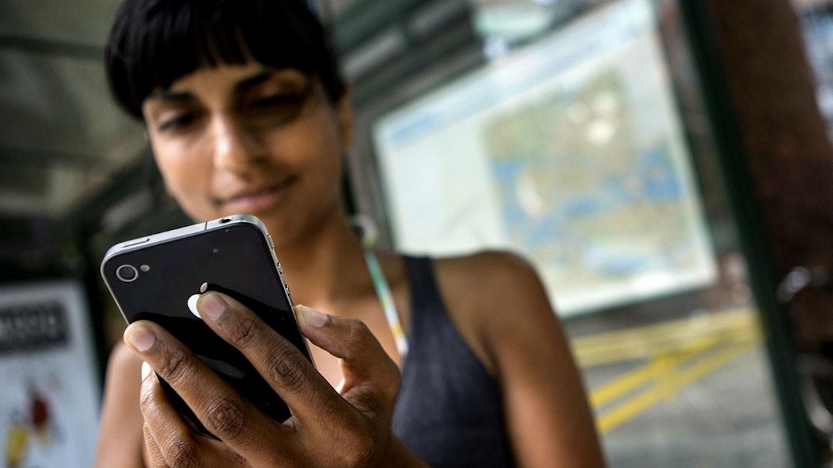 mobilanvändande