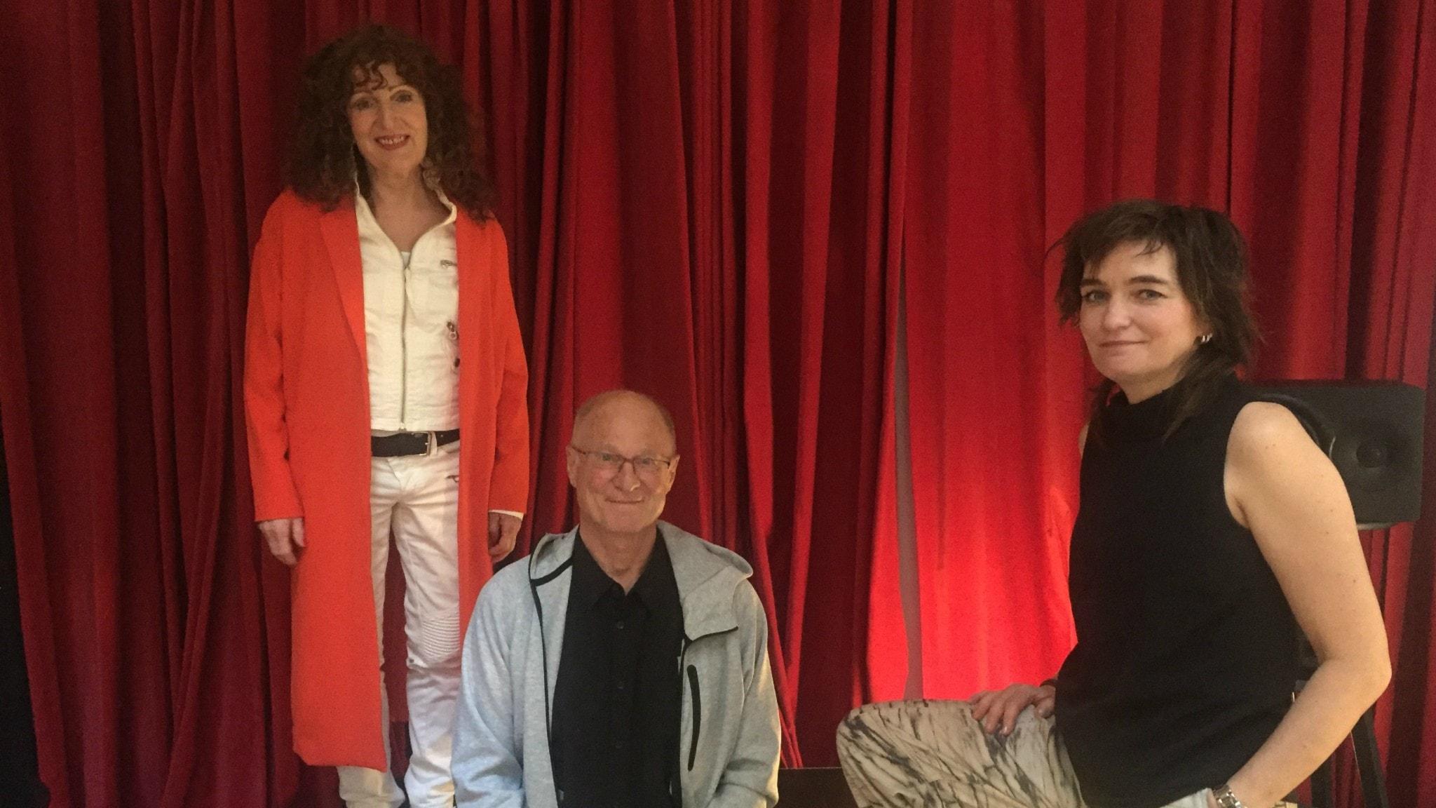 I studion tillsammans med vår programledare Ulrika hittar du Allan Linnér och Daniella Gordon.