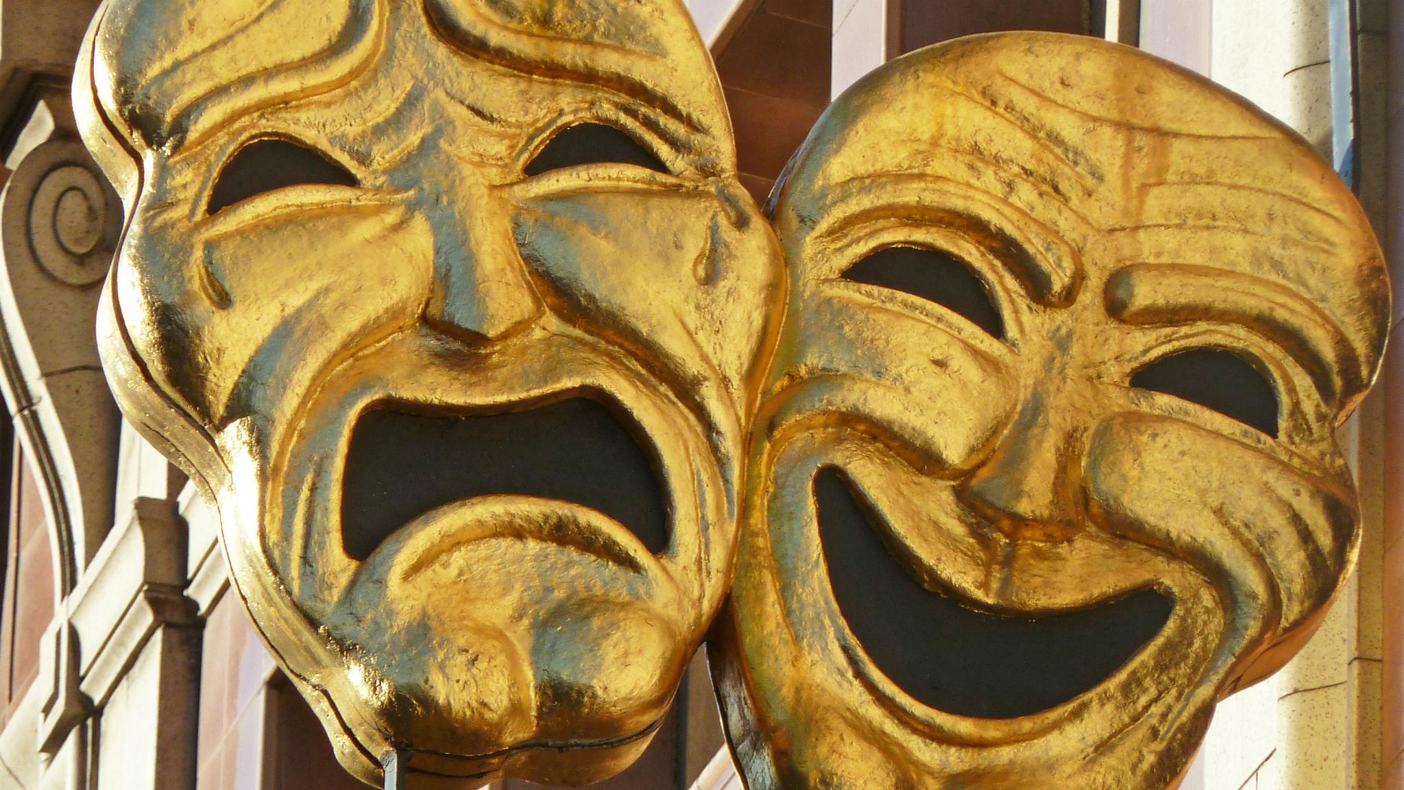 Tragedi- och komedimasker