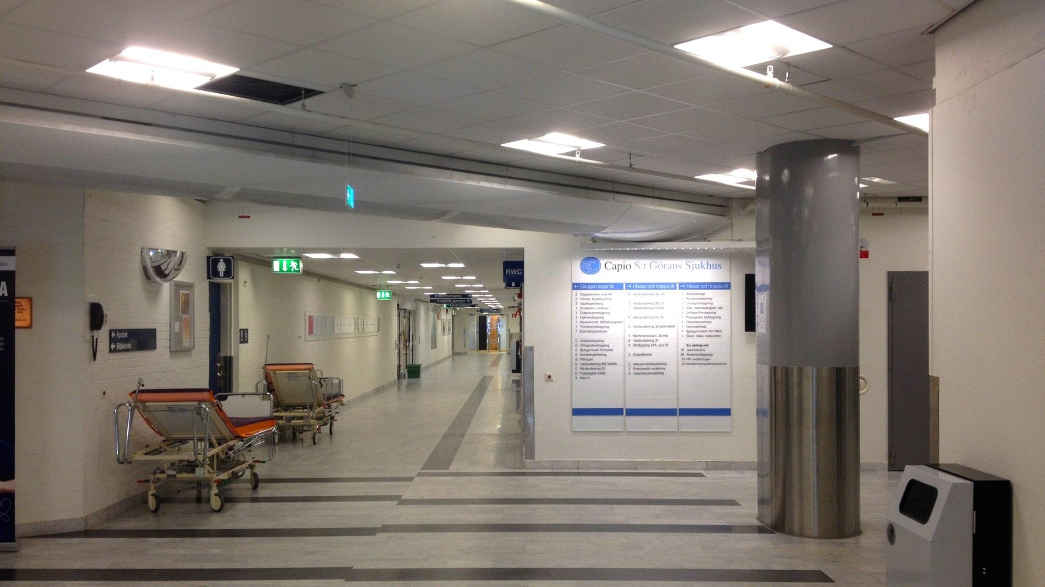 sjukhus. Foto: Moa Soltanian Magnusson