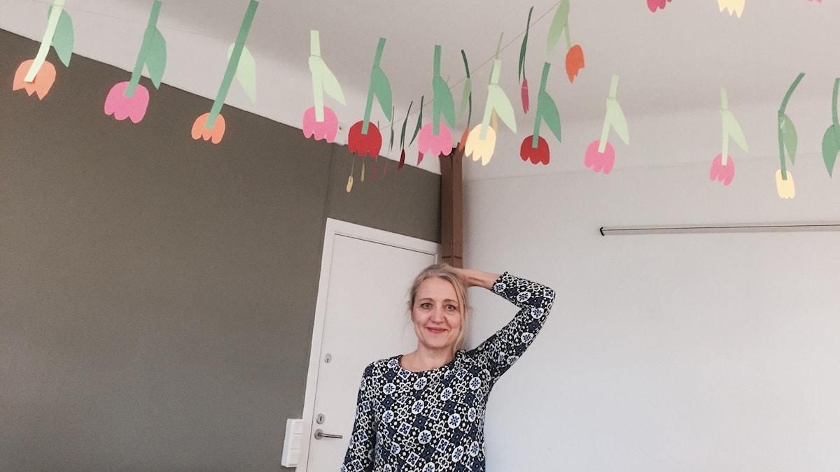 Manusförfattaren och skådespelaren Klara Zimmergren undviker helst att hamna i konflikt. Foto: Samanda Ekman