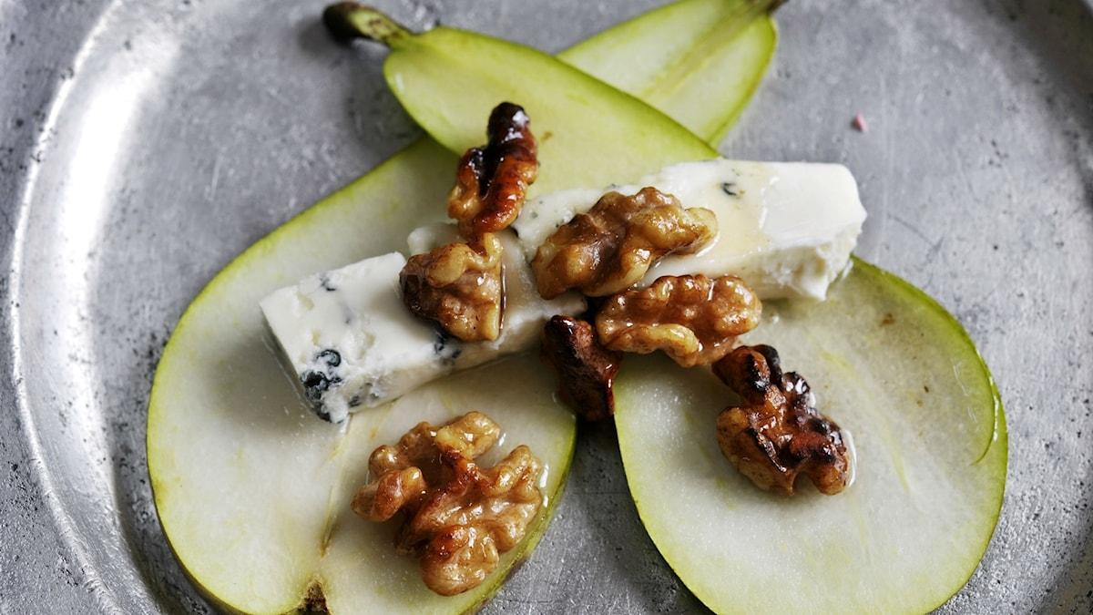 Päron med ost