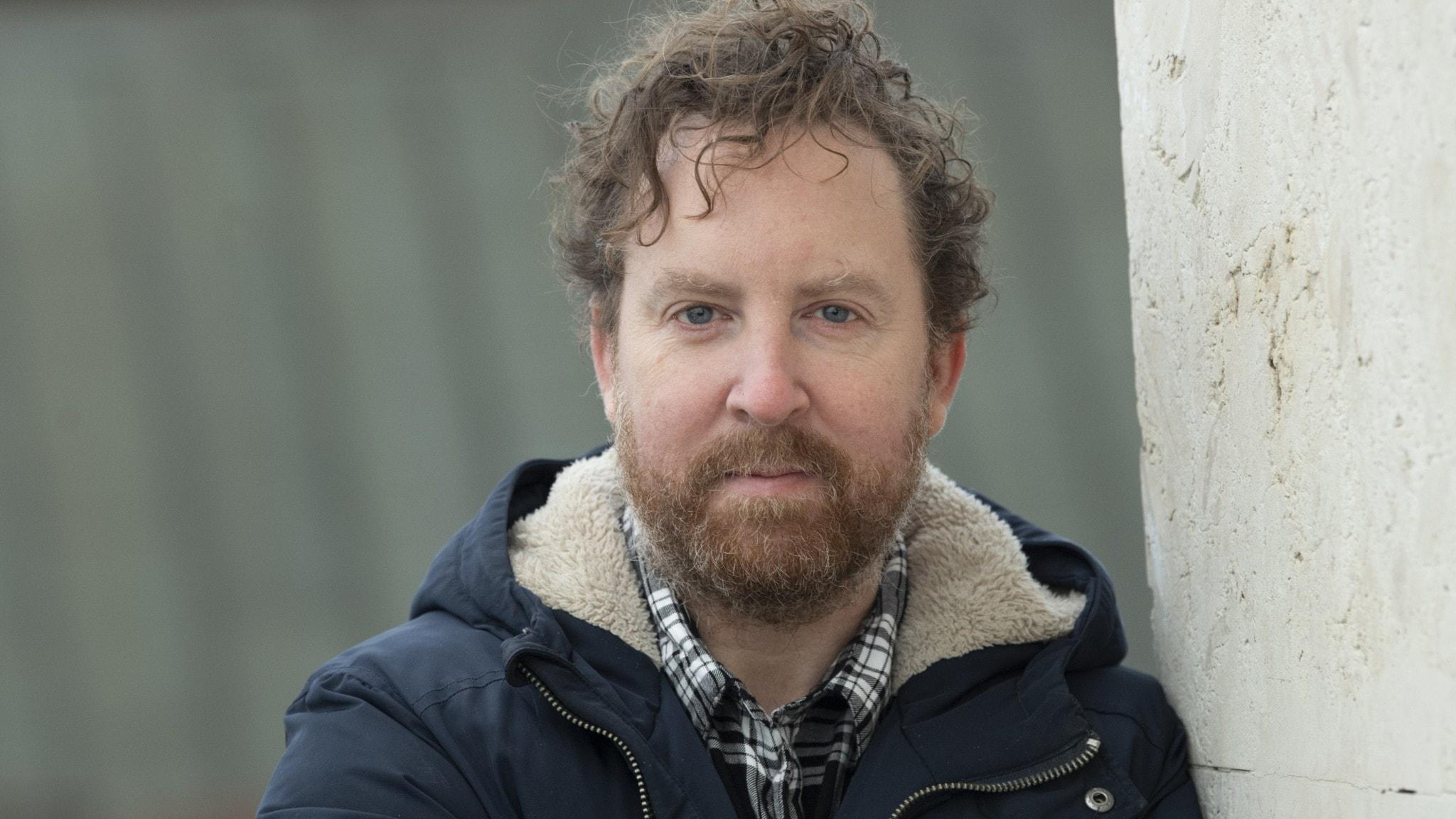 Bild på Uje Brandelius som drabbades av Parkinsons sjukdom när han var 44 år.