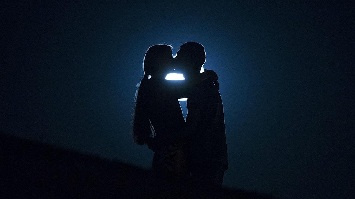 Kyss i månskenet