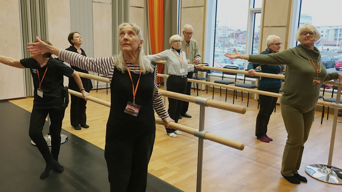 På kulturhuset Spira i Jönköping träffas Parkingson-patienter varje tisdag för att dansa. En stund då jag kan få glömma bort min sjukdom, berättar en av dem.