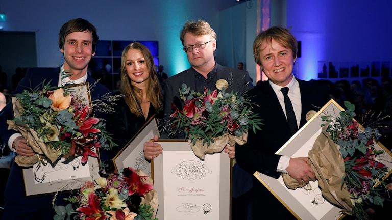 Teamet som granskat Fallet Kevin fick även Stora journalistpriset för granskningen.