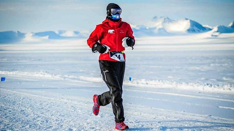 Efter att ha sprungit på Sydpolen har Håkan Jonsson sprungit maraton på alla kontinenter.