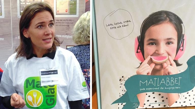 Martina Jönsson, hushållningssällskapet Halland, har skrivit boken Matlabbet. Splitbild.