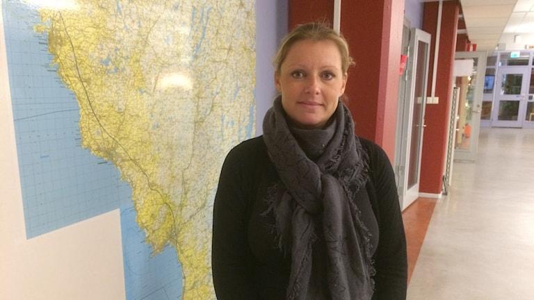 Arkeolog Maria Nilsson