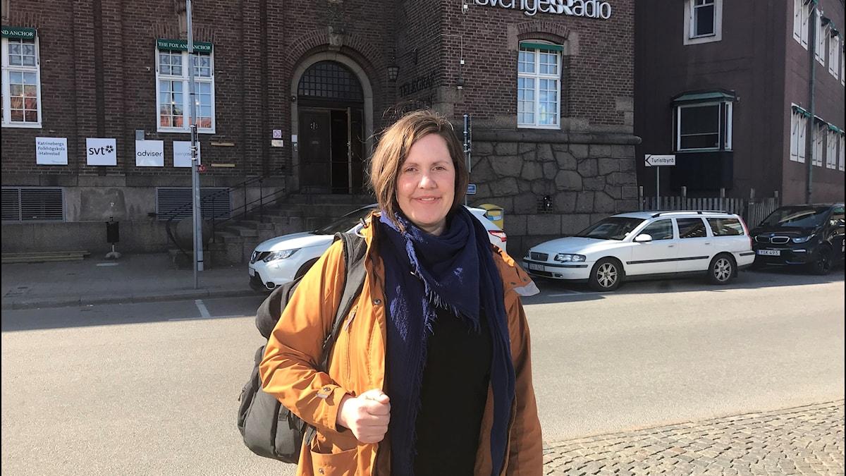 Ann Kristin Gulliksen, Gruppledare för vattenproduktion vid Laholmsbuktens VA, säger att de tittar på att hur de ska möta den här problematiken i framtiden.