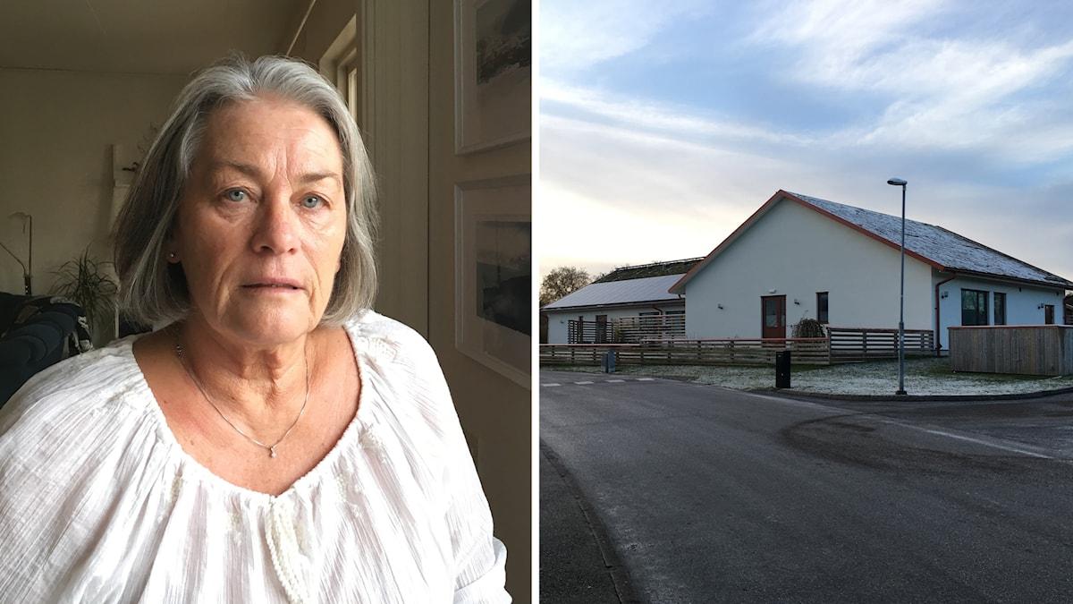 Ann-Katrin Clerstedt var kritisk till LSS-boendet, men efter boendets öppnande har hon inte känt sig störd.
