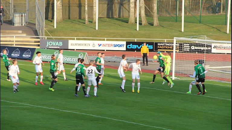 Varbergs Bois tog emot Jönköping södra på hemmaplan.