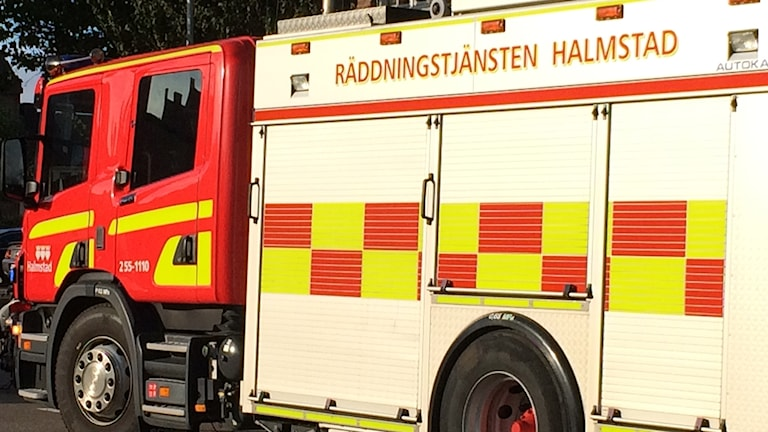 brandbil, räddningstjänsten Halmstad