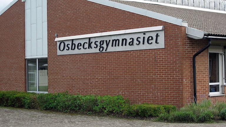 Osbeckgymnasiet. Foto: Sveriges Radio.