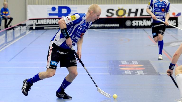 Arkivbild. Magnus Svensson i aktion. Foto: Eva-Lena Johnsson/Arkiv