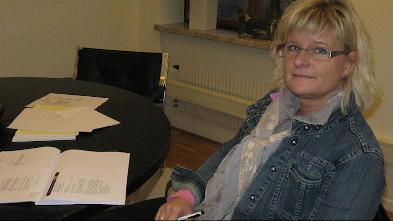 Suzanne Åkerlund, folkpartistiskt kommunråd i Halmstad