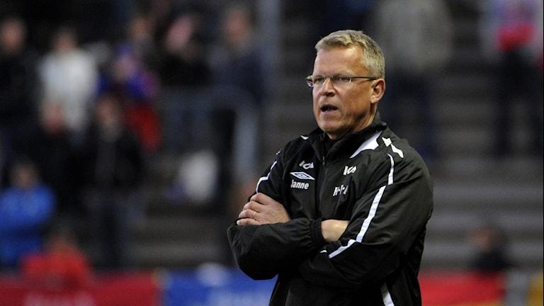 Janne Andersson. Foto: Björn Lindgren/Scanpix