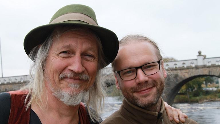 Stefan Sundström och Martin Emtenäs.