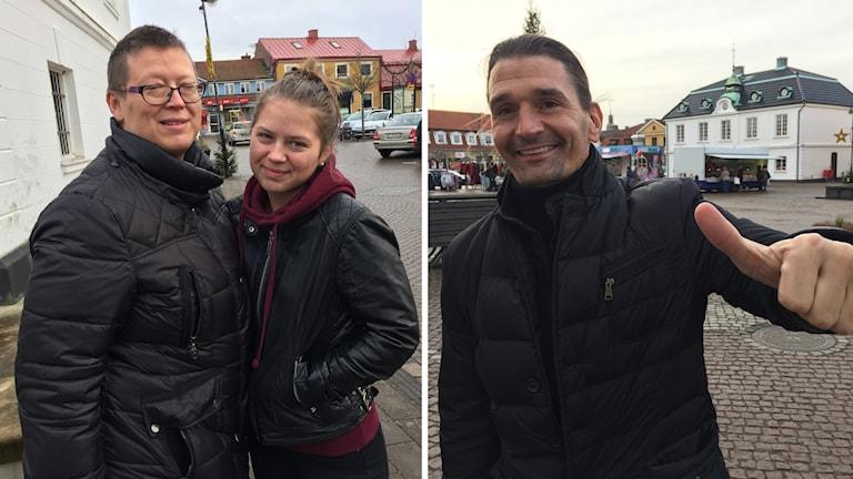 Filippa och Veronica Karlsson och Martin Svanberg